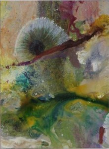 Spring View A, mixed watermedia, Eve Margo Withrow
