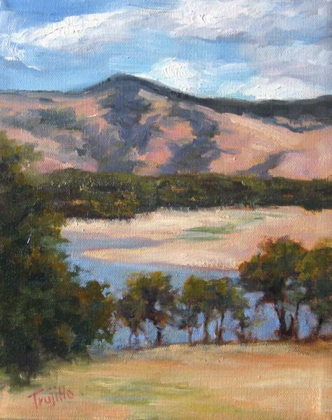 Emigrant Lake, Oil Artist Silvia Trujillo