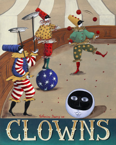CLOWNS by Katharine Gracey