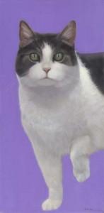 Pearl on Lavender