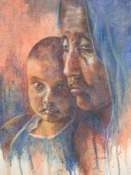 """""""Forgotten""""  pastel by Carol Wilder"""