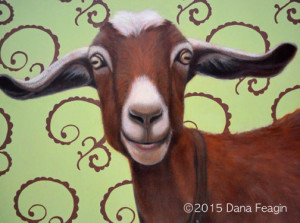 """The Wind Beneath My Wings""  Oil painting by Dana Feagin"