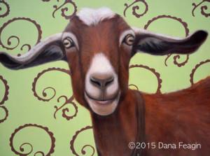 """The Wind Beneath My Wings""  Oil painting by Dana Feagin"