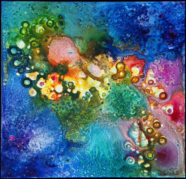 """Octopus Garden"" Watercolor by Pam Haunschild"