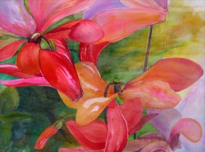 """Sun Catchers""  Watercolor by Marge Heilman"