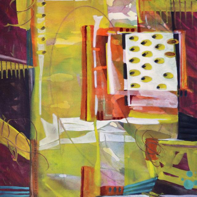 """Seeds in the Wind"" Watermedia by Lynda Hoffman Snodgrass"
