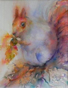 """Nutcracker"" Watercolor by Kay Myer"