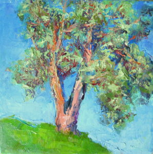 """Mighty Madrone"" Oil Painting by Silvia Trujillo"