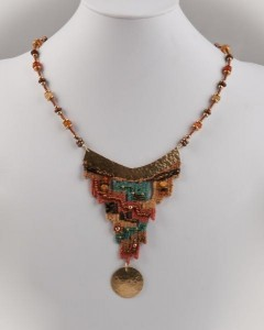 """Tapestry Woven Jewelry"" by Thalia Keple (Photograph by Judith Pavlik)"