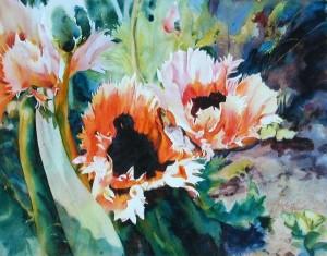 Cora's Garden by Elaine Frenett