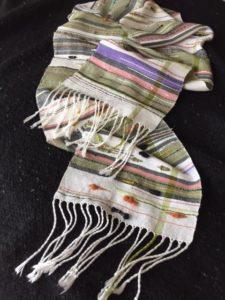 thalia keple woven scarf
