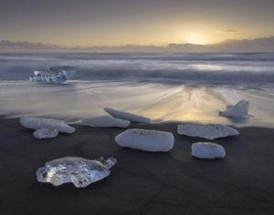 Ice Beach Print