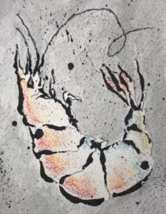Artis member show JayGordon_image1_ShrimpDive