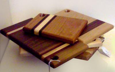 Small Cutting Boards by John Weston... Local & exotic, sustainably harvested hardwoods - photo: M O'Rourke