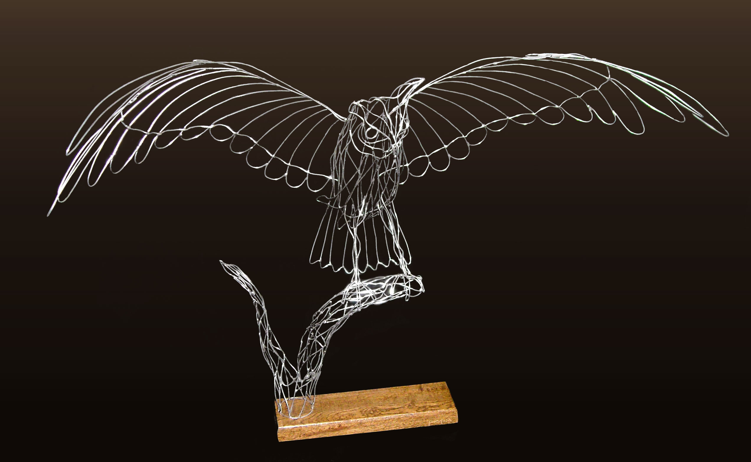 Wire Sculpture Wings Data Schema With Linearregulator Current Source Circuit Diagram Tradeoficcom Oil Paintings And Three Dimensional Featured Rh Ashlandgalleries Com Angel Wall