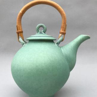 Ceramic teapot by Bonnie Morgan