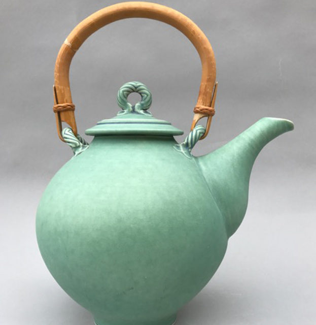 Ceramic teapot by Bonnie Morgan