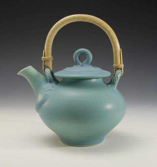 Functional ceramic teapot by Bonnie Morgan