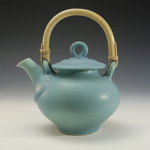Functional ceramic teapot by Bonnie Morgan