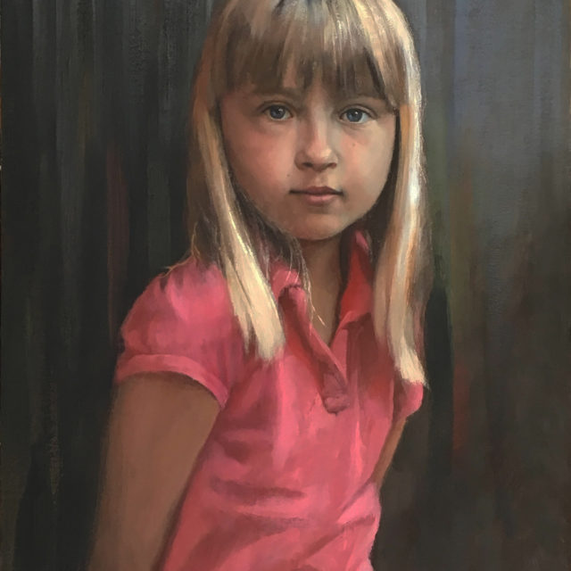 Gabija 16x20 oil on linen by David W Terry 300