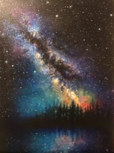 Series of paintings by, Harmonee Ashley
