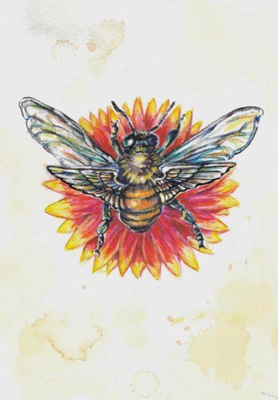 """Aileron Flares"" ~ watercolor ~ Jarrett Rex Davidson"