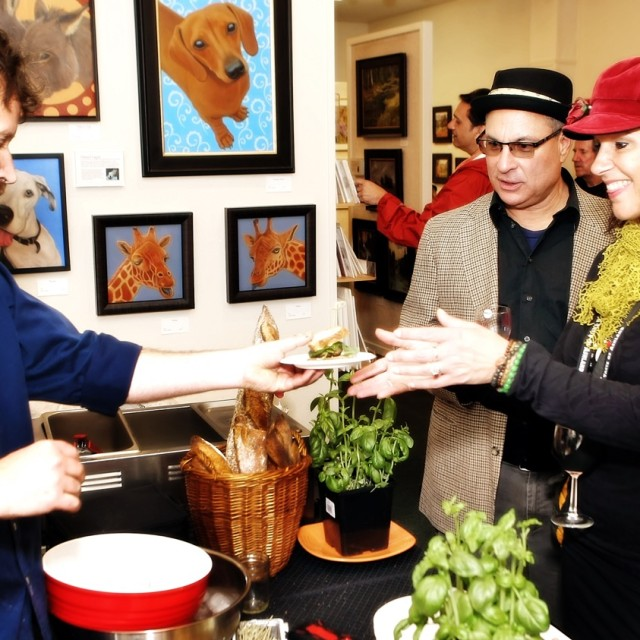 A Taste of Ashland, art, food, and wine event