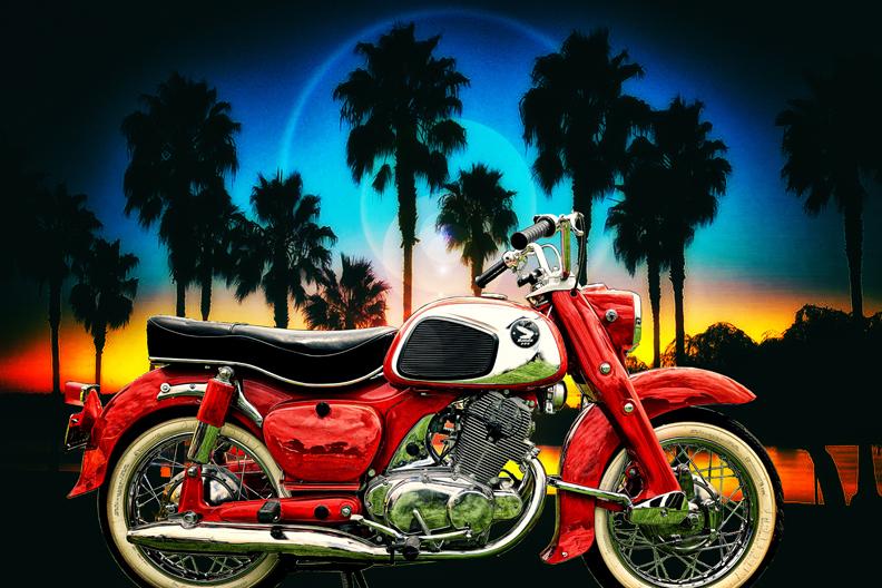 Cynthia Daniel Wolf Honda Dream MotoPhoto FB
