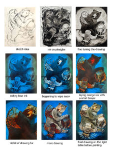 Bear and owls process 1 copy