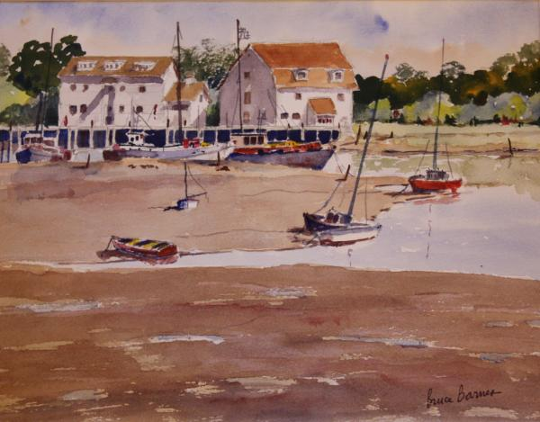 """Pubs Across the Water"" Essex by Bruce Barnes"