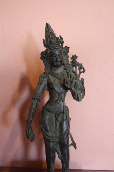 Dancing Deva Bronze Figure
