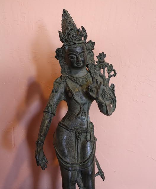 Dancing Deva Bronze Figure