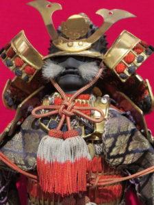 Samurai horseback warrior