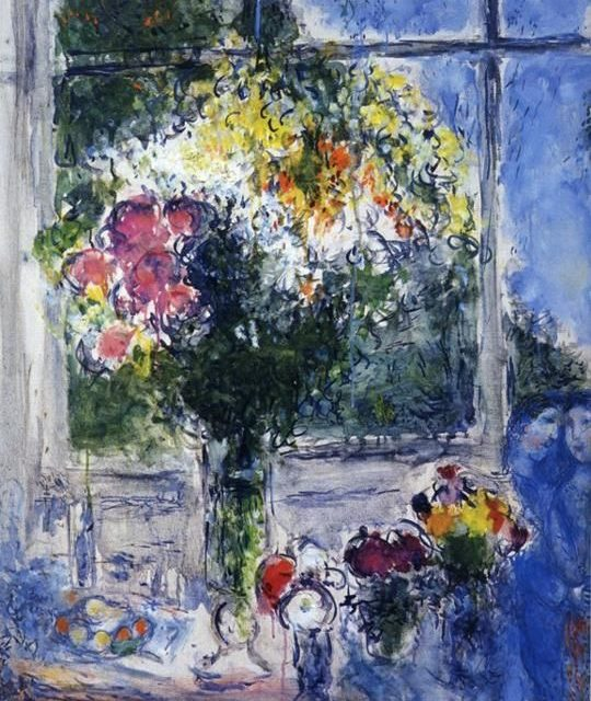 painting by Marc Chagall