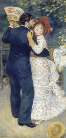 The Country Dance by Renoir