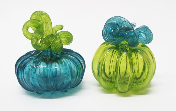 Gathering Glass Studio, Pumpkin Pals, Blown Glass