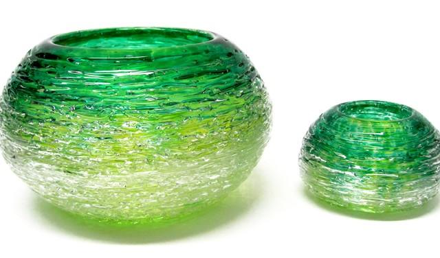 Woven Crystal Bowls