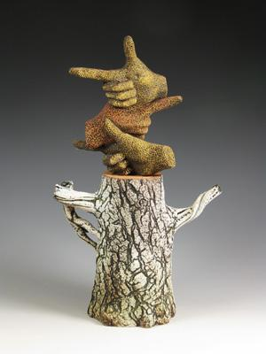 "Dennis Meiners, ""Choices Stump Teapot"""