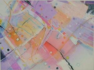 Bob Bosworth, Untitled #17, watercolor