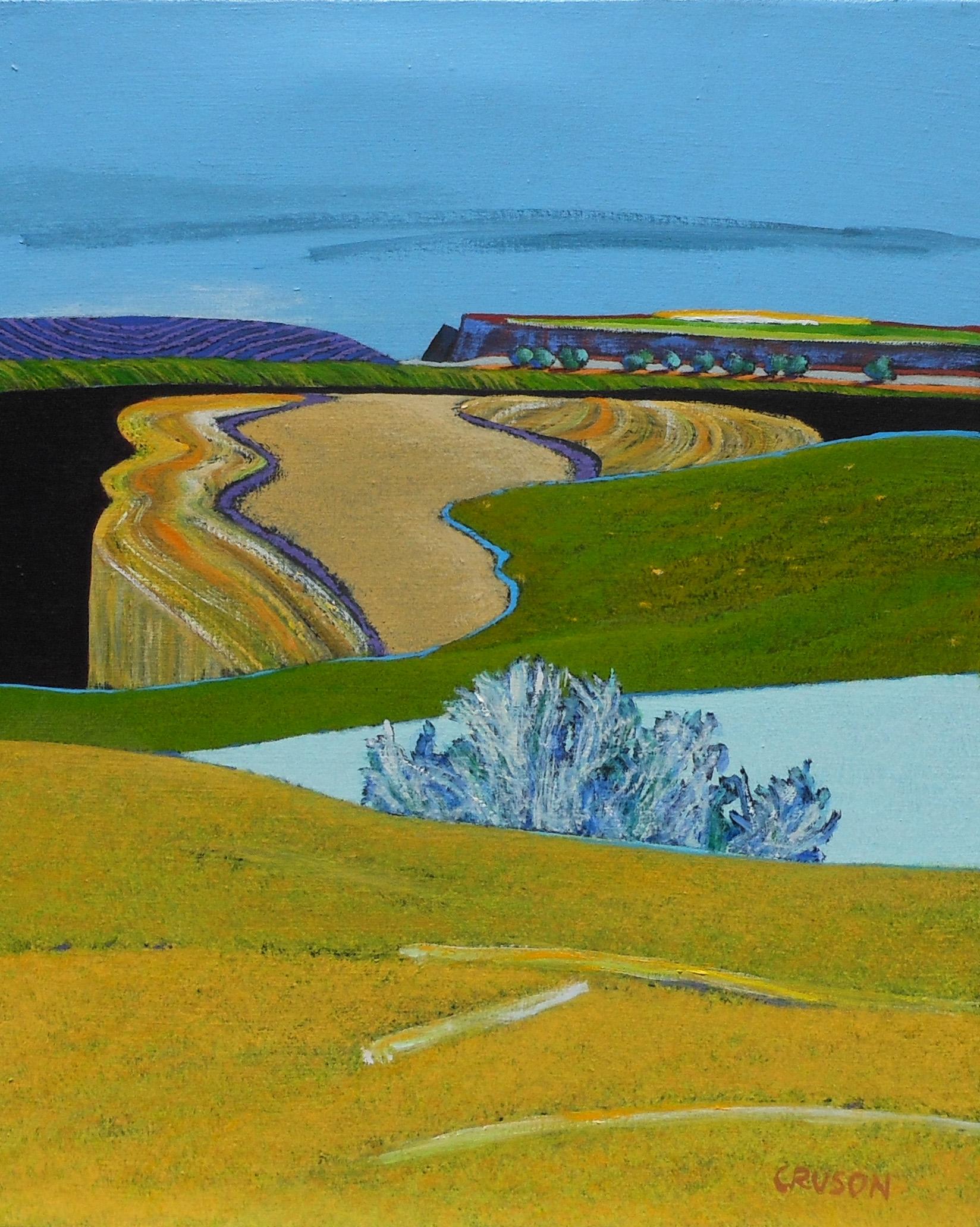 Side Road Landscape # 14 006