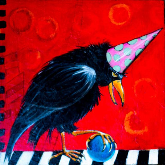 Clown Crow