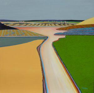 Jon Jay Cruson, Untitled, acrylic on canvas, 30x30