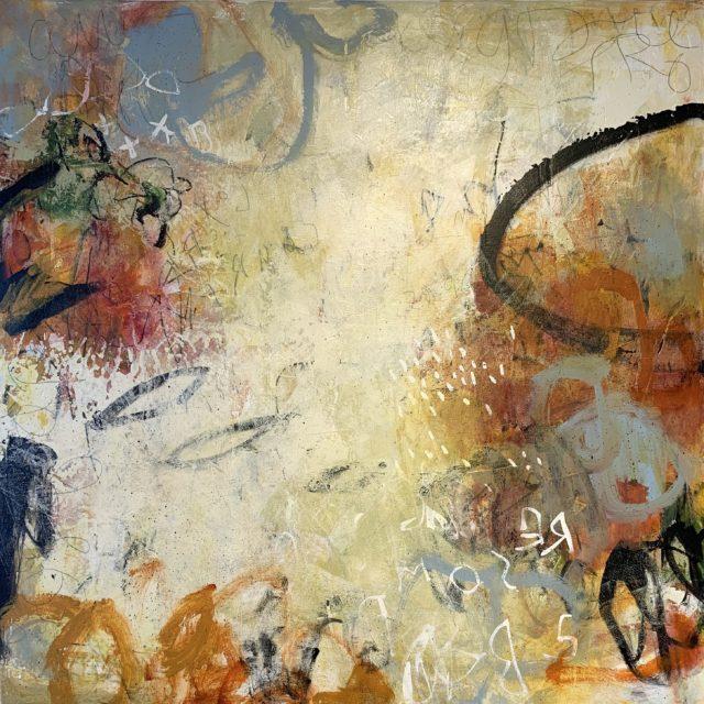 Judy Wise, Atempo, acrylic on canvas