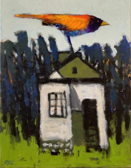 Robert Schlegel, Bird House, 28x22