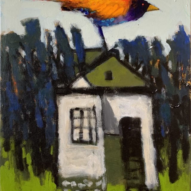 Robert Schlegel, Bird House, 28x22