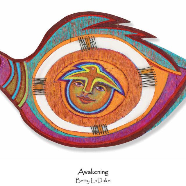 Betty LaDuke, Awakening, 11x17, inkjet print