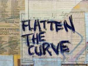 """Flatten the Curve"", detail"