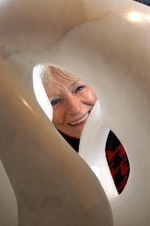 Artist: J. Ellen Austin; Opening To New Perspectives; Italian Translucent Alabaster