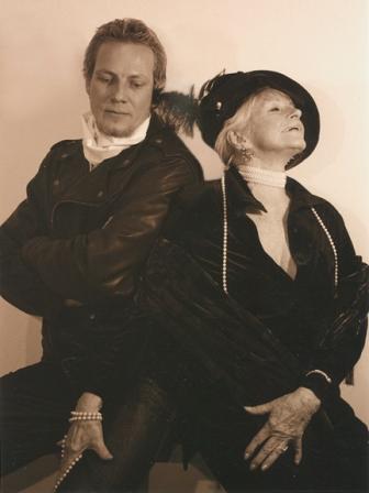 Jochen Ziems poses with J. Ellen Austin 2001 Photographer Jim Langhoffer