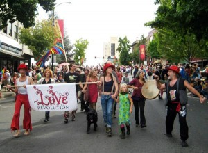 Love Revolution at Pride Parade 2011